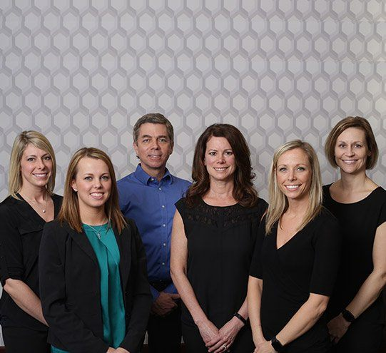 Ann Arbor dentist Dr. Olsen with his dental team